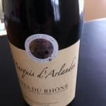 Côtes du Rhone Maquis d'Arlandes 2011